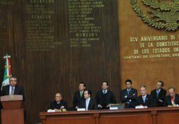 El país requiere de decisiones firmes y trascendentes, que no saben de tiempos electorales: Acosta Naranjo