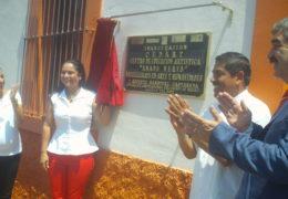 Inaugura Ana Lilia López de Sandoval CEDART de SAMAO