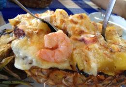 Sarandeado, Camarones y birria, platillos que trascienden fronteras en el Festival Gourmet.