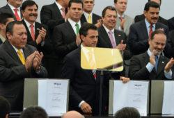 """FIRMA PRD CON PAN, PRI, Y PRESIDENCIA, EL """"PACTO POR MÉXICO"""""""