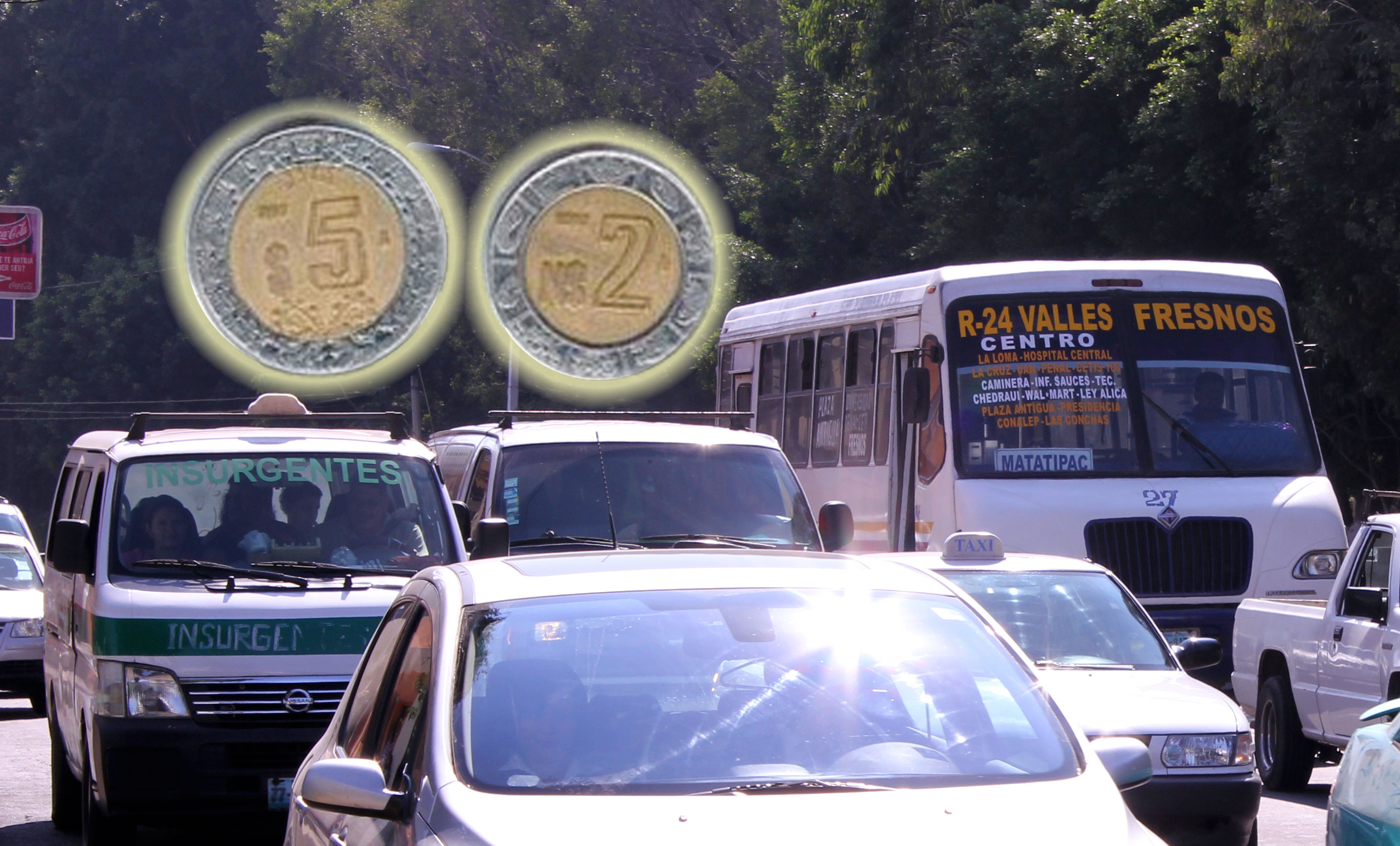 Habrá protestas si aumentan costo del transporte en Tepic