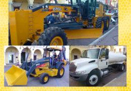 Inician año con maquinaria nueva en Santiago Ixcuintla