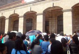 Colonos protestan contra las tarifas del agua potable