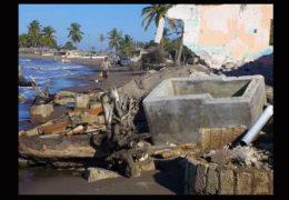 Reubicarán a familias amenazadas por el mar en Palmar de Cuautla