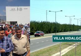 A punto de iniciar el Bulevar de acceso a Villa Hidalgo, gestionado por el gobierno de Pavel Jarero.