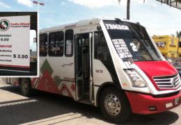 """Inconforme la ciudadanía con camiones """"premier""""."""