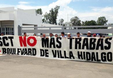 SCT detiene licitación de obra en Villa Hidalgo Nayarit, exigen renuncia del director.