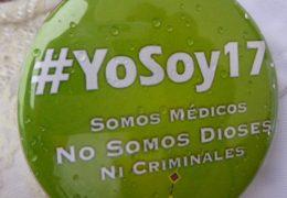 Nos juzgan sin saber de riesgos médicos: #YoSoy17