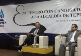 """Autonomía del Siapa  """"no más caja chica del ayuntamiento"""", propone Polo Domínguez"""