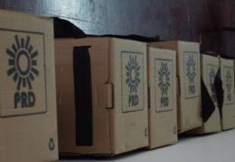 Recuento de 38 paquetes electorales del PRD