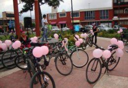 Rodada con Causa contra el cáncer de mama