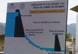 Autoriza Semarnat hidroeléctrica Las Cruces, impone reservas