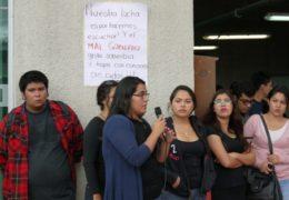 Paro en la UAN, en solidaridad con familiares de 43 normalitas desaparecidos