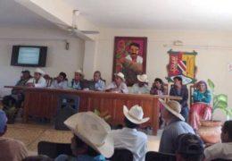 Indígenas serranos arman primera policía comunitaria