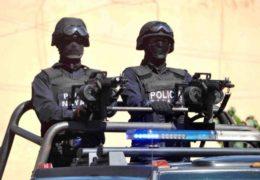 Fuera capuchas de la policía Nayarit