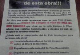 Otra campaña de difamación para el alcalde de Tepic y para PRD-PAN