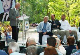 Rinden homenaje a Julián Gascón, político y humanista fundador de la UAN