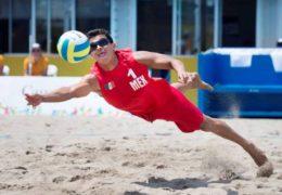 Juan R. Virgen y Lombardo Ontiveros campeones panamericanos, primer oro en voleibol playero para México