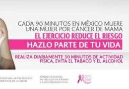 En aumento pacientes con cáncer de mama