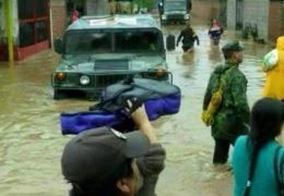 """""""Patricia""""  deja inundaciones en Nayarit  y """"daños ocultos"""""""