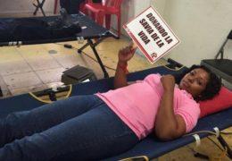 Trabajadores donadores dan ejemplo de altruismo