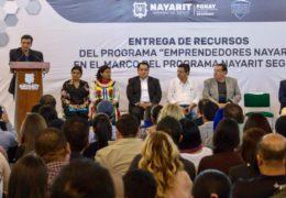 Gobierno del Estado impulsa emprendedores nayaritas