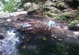 Se conectó el drenaje de las comunidades al río