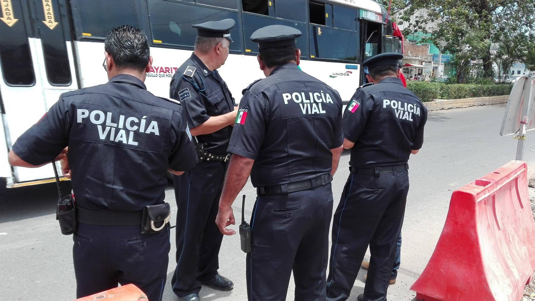 policia vial compostela