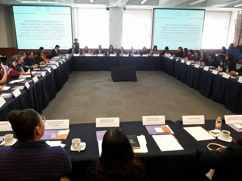 Participa INMUNAY en taller sobre desafíos para castigar la violencia contra las mujeres