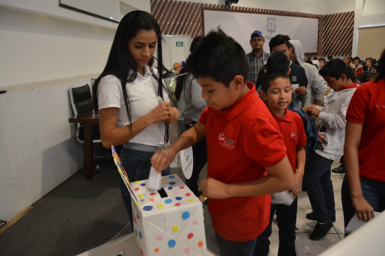 Se realizó concurso de Difusores de los Derechos de la Niñez nayarita 2018