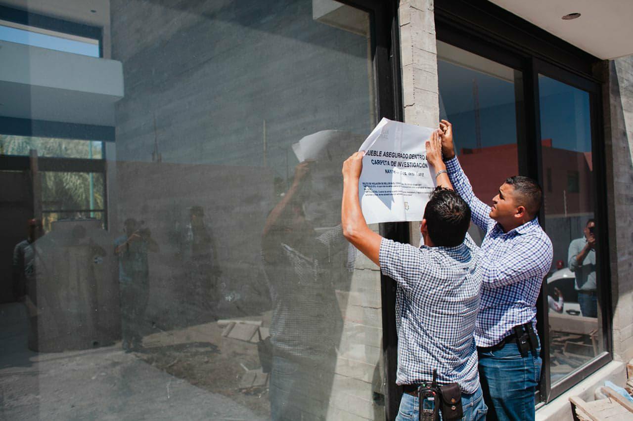 Asegura Fiscalía de Nayarit propiedades del ex gobernador Roberto Sandoval