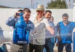"""Después de 25 años, """"Cuevitas"""" Tiene Red de Agua Potable Hasta sus Domicilios"""