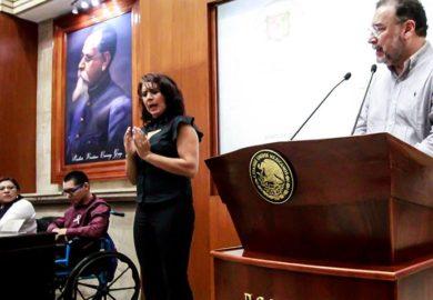 Anuncia Congreso Ley de Movilidad en Foro de Transporte para Personas con Discapacidad.