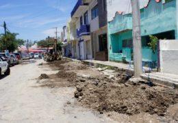 Rehabilita CEA redes de alcantarillado y agua potable en Tepic