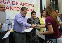 Ayuntamiento de Tepic entregó apoyos económicos a nayaritas repatriados