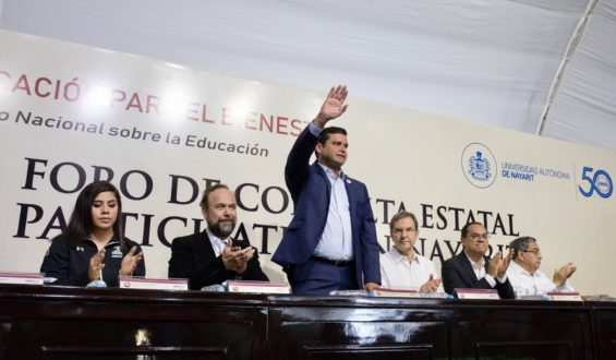 Con educación se construyen pueblos y naciones fuertes y libres: AEG