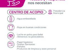 Todo el apoyo de Tepic a nuestros hermanos nayaritas: Castellón Fonseca