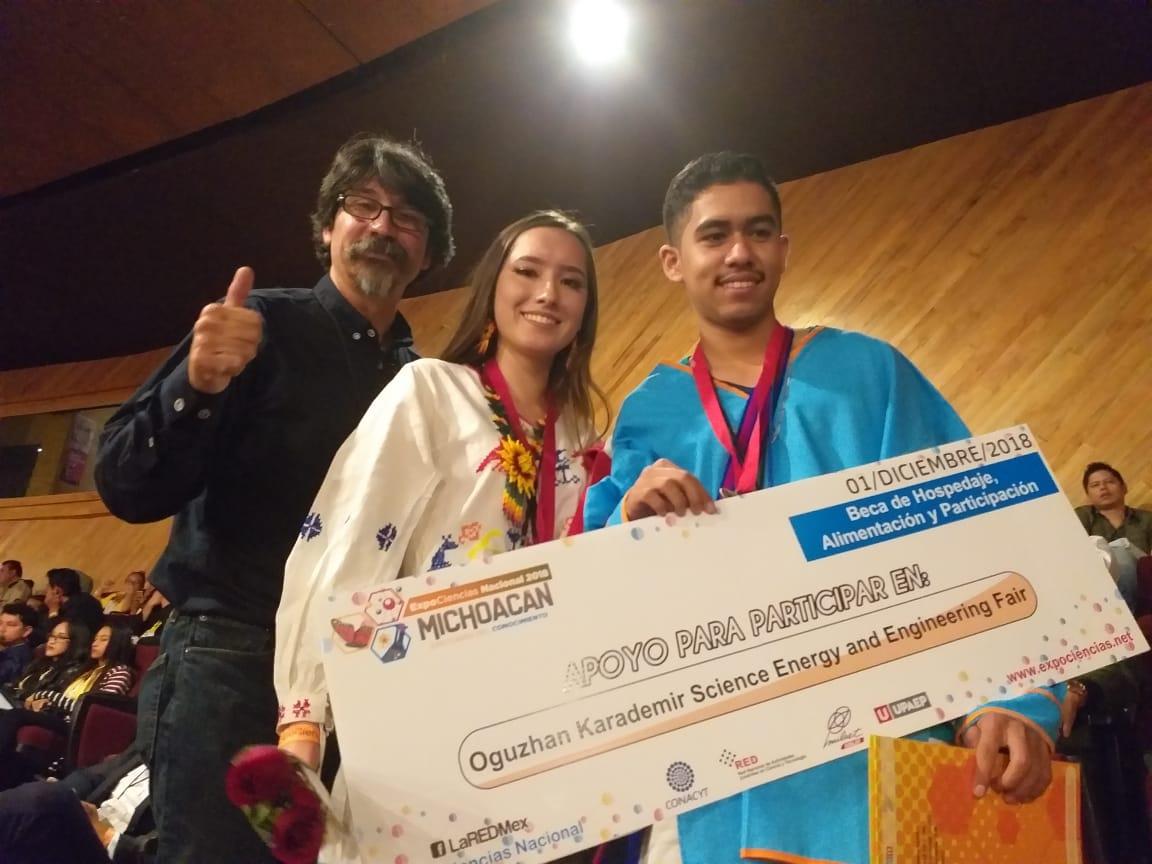 CECyTEN gana un segundo pase para competencia internacionalcientífica