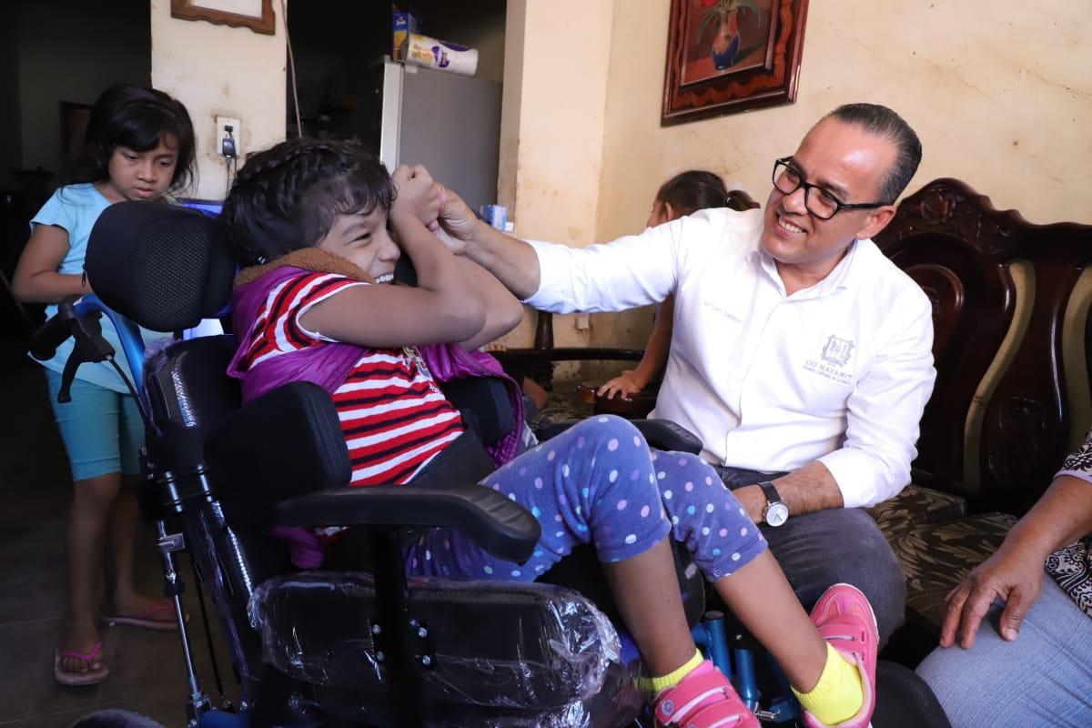 Entregó DIF Nayarit aparatos ortopédicos en Tuxpan