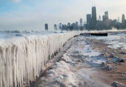 Chicago, más frío que la Antártida