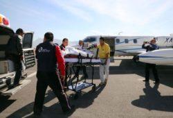 TRASLADAN A HOSPITAL DE TEXAS A DOS MENORES DE EDAD POR EXPLOSIÓN DE HIDALGO