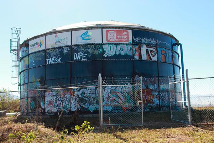 Después de una década de abandono, funcionará el Macro-tanque La Cantera