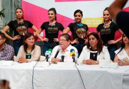 "Presentan a 6 participantes al título ""Embajadora de la Cultura Tepic 2019"""