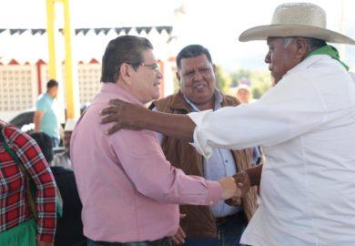 Castellón brindó audiencia en la zona rural