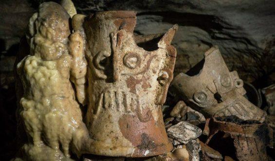 Descubren tesoro arqueológico en Chichen Itzá