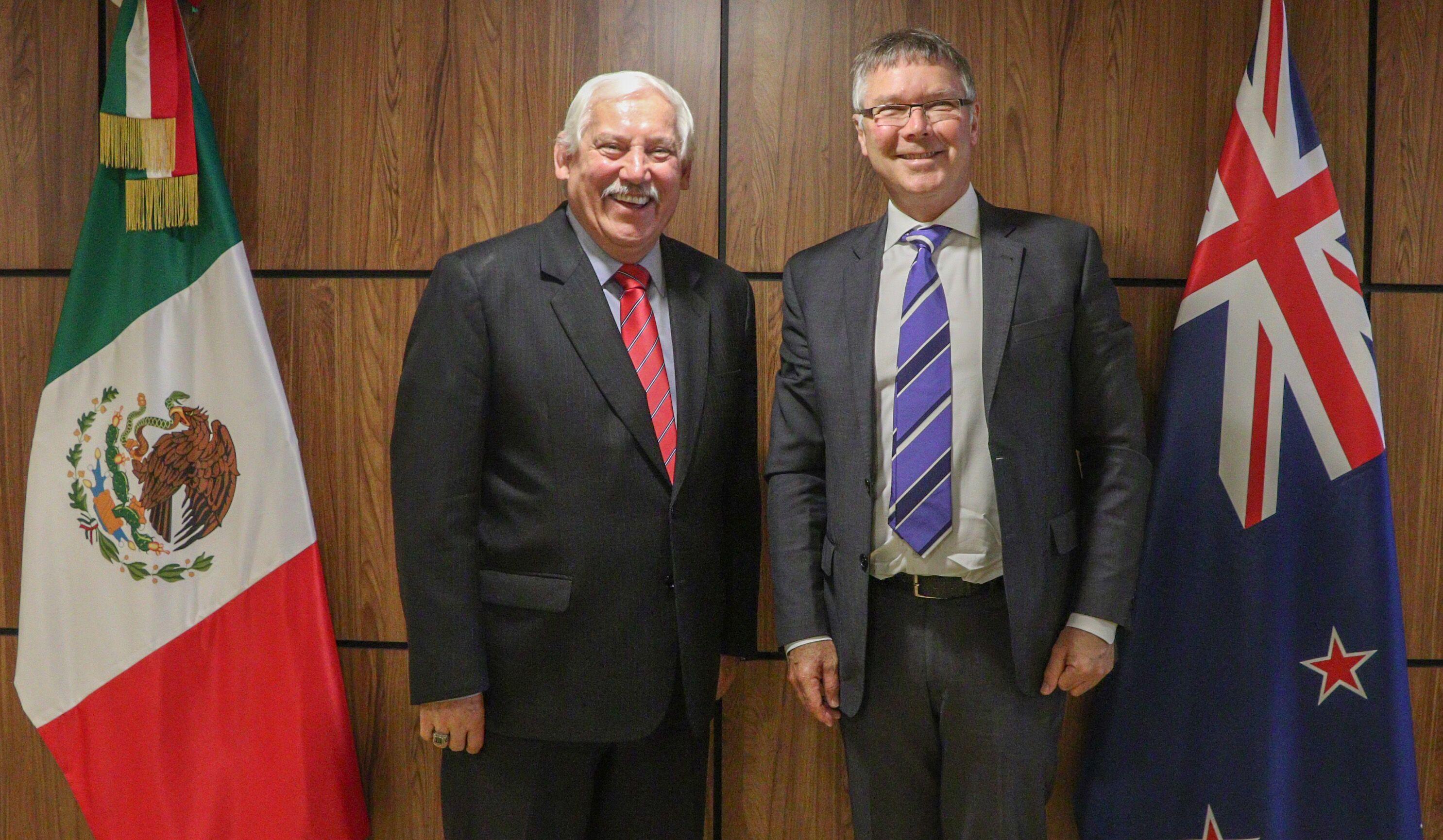 Fortalecen México y Nueva Zelanda cooperación en desarrollo agropecuario