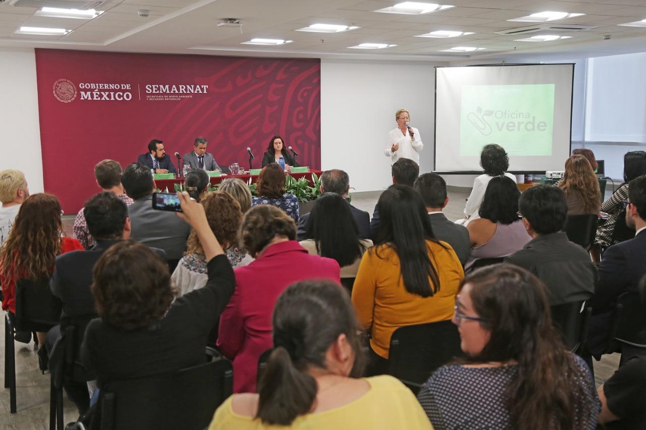 SEMARNAT busca cuidar el ambiente mediante el programa Oficina Verde