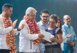 Arranca 'Programa Nacional de Reconstrucción' en Juchitán, Oaxaca