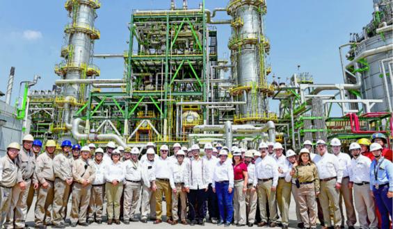 El Gobierno de México, de febrero a la fecha, ha logrado aumentar 18% la producción de combustibles