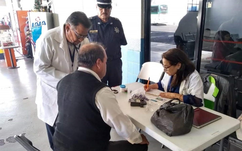 En Semana Santa se realizaron 45 mil 744 exámenes médicos para garantizar seguridad de los viajeros